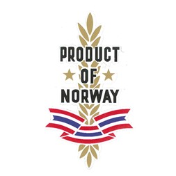 PRODUKT OF NORWAY DEKAL